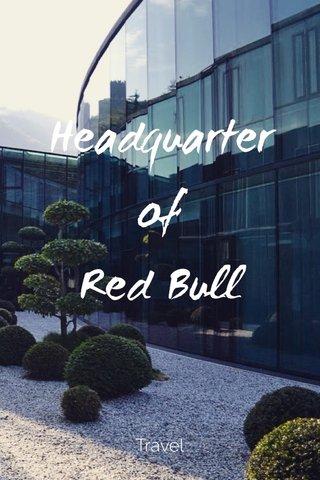 Headquarter of Red Bull Travel