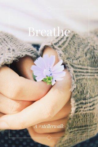 Breathe A #stellerwalk