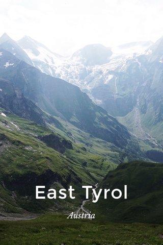 East Tyrol Austria