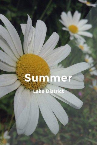 Summer Lake District