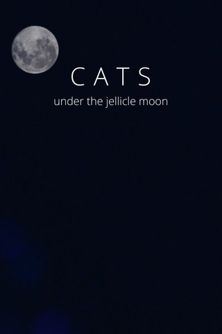 CATS under the jellicle moon