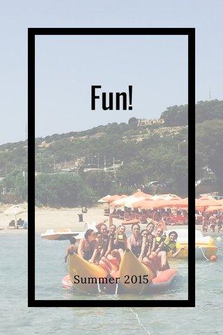 Fun! Summer 2015