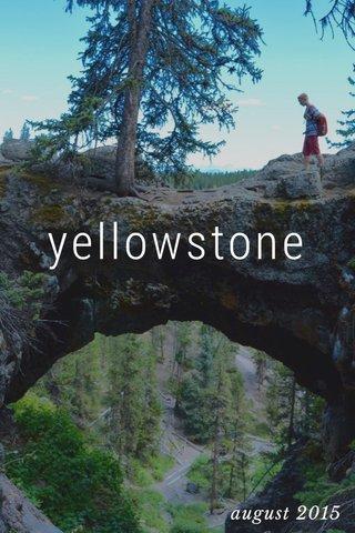 yellowstone august 2015