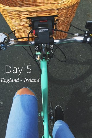Day 5 England ~ Ireland