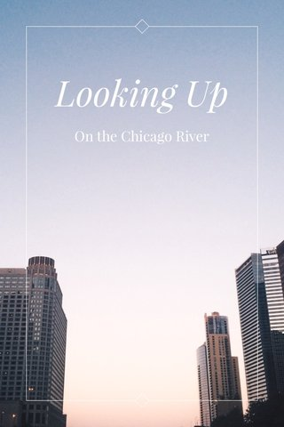 Looking Up On the Chicago River