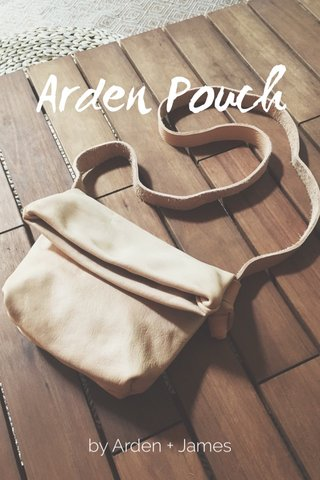 Arden Pouch by Arden + James