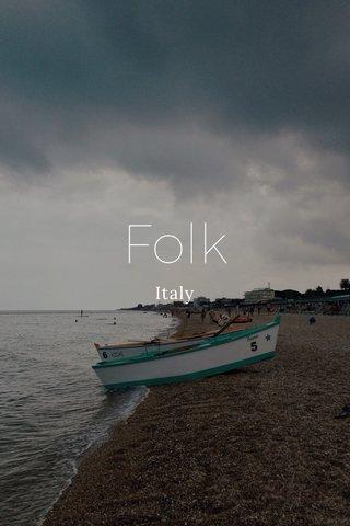 Folk Italy