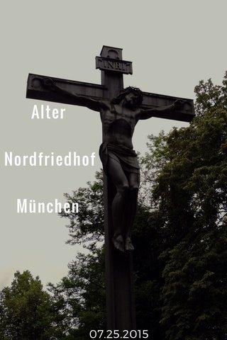 Alter Nordfriedhof München 07.25.2015