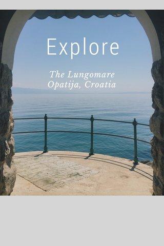 Explore The Lungomare Opatija, Croatia