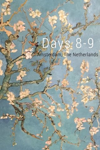 Days 8-9 Amsterdam, The Netherlands