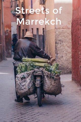 Streets of Marrekch
