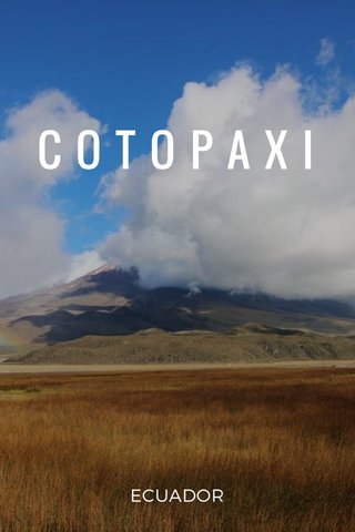 COTOPAXI ECUADOR