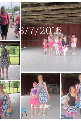 8/7/2015 Recital day