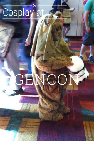GENCON Cosplay at