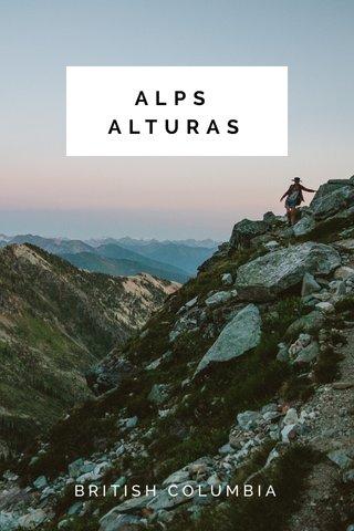 ALPS ALTURAS BRITISH COLUMBIA