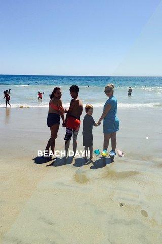 . BEACH DAY!! 🐬🐠🐟🐚