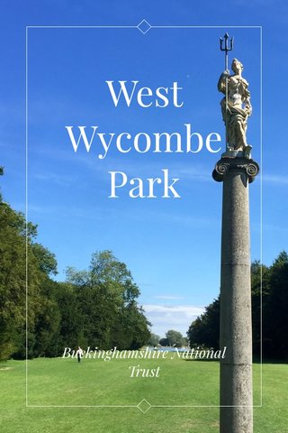 West Wycombe Park Buckinghamshire National Trust
