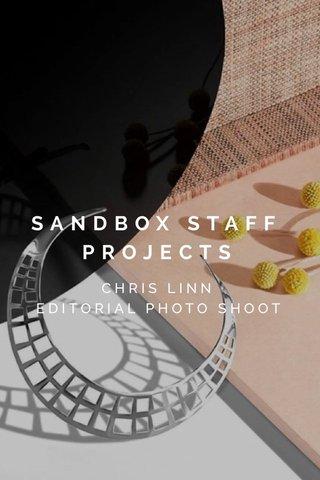 SANDBOX STAFF PROJECTS CHRIS LINN EDITORIAL PHOTO SHOOT