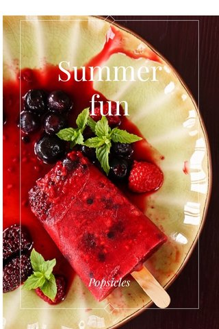 Summer fun Popsicles