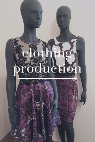 clothing production