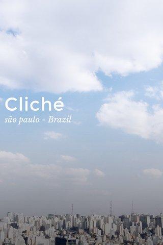 Cliché são paulo - Brazil