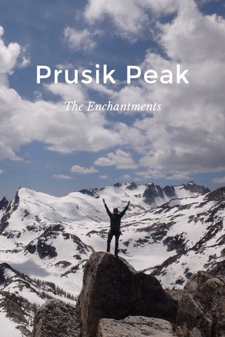Prusik Peak The Enchantments