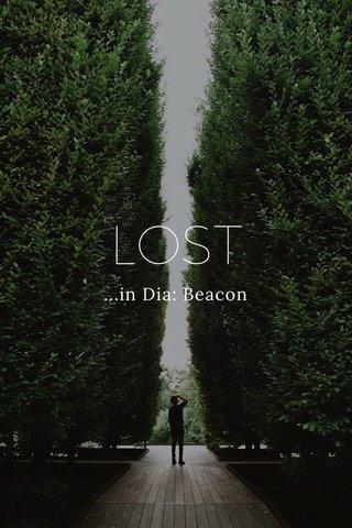 LOST ...in Dia: Beacon