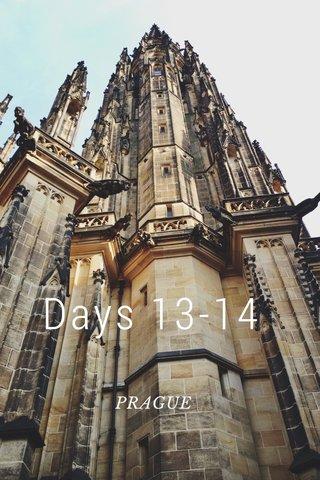 Days 13-14 PRAGUE