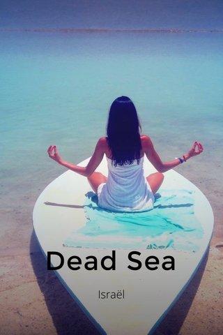 Dead Sea Israël