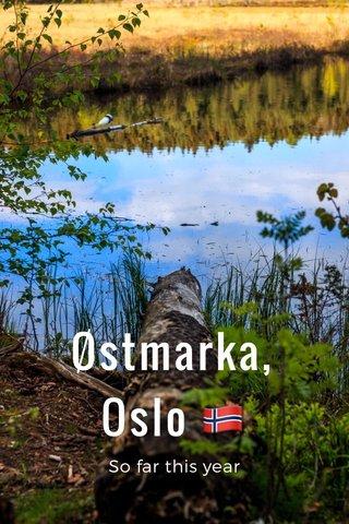 Østmarka, Oslo 🇳🇴 So far this year