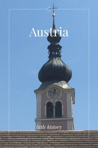 Austria little history