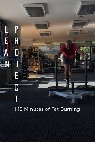 L P E R A O N J E C T | 15 Minutes of Fat Burning |