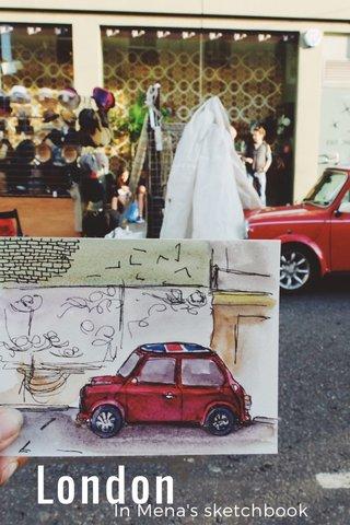 London In Mena's sketchbook