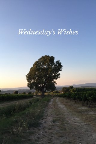 Wednesday's Wishes