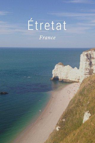 Étretat France