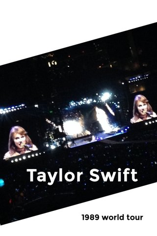 Taylor Swift 1989 world tour
