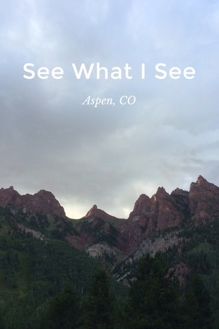See What I See Aspen, CO