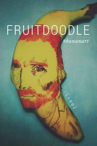 FRUITDOODLE #bananart