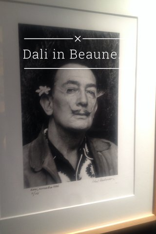 Dali in Beaune.
