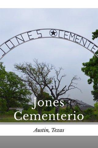 Jones Cementerio Austin, Texas