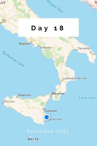 Day 18 Syracuse,Italy