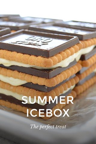 SUMMER ICEBOX The perfect treat