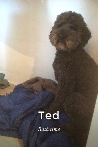 Ted Bath time