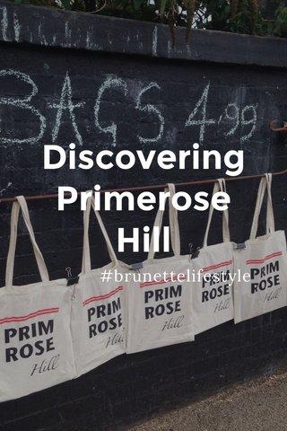 Discovering Primerose Hill #brunettelifestyle