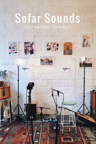 Sofar Sounds Homerton, London