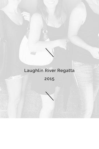 Laughlin River Regatta 2015