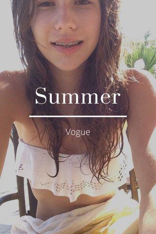 Summer Vogue