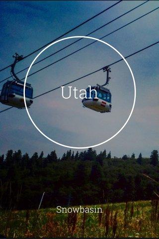 Utah Snowbasin