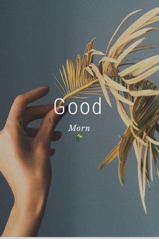 Good Morn 🌾