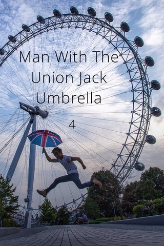 Man With The Union Jack Umbrella 4